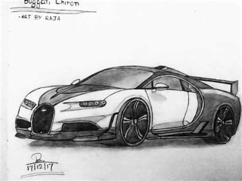 Learn how to draw bugatti pictures using these outlines or print just for coloring. Bugatti Chiron sketch | Bugatti chiron, Super cars, Bugatti
