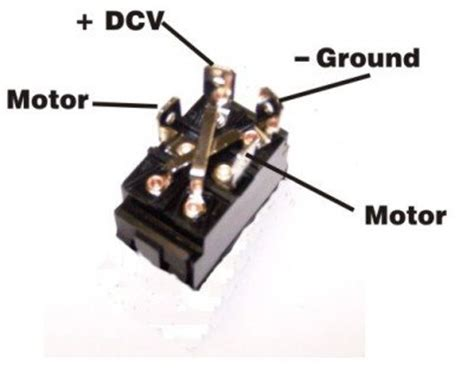 Amp Rocker Switch Polarity Reverse Motor Control