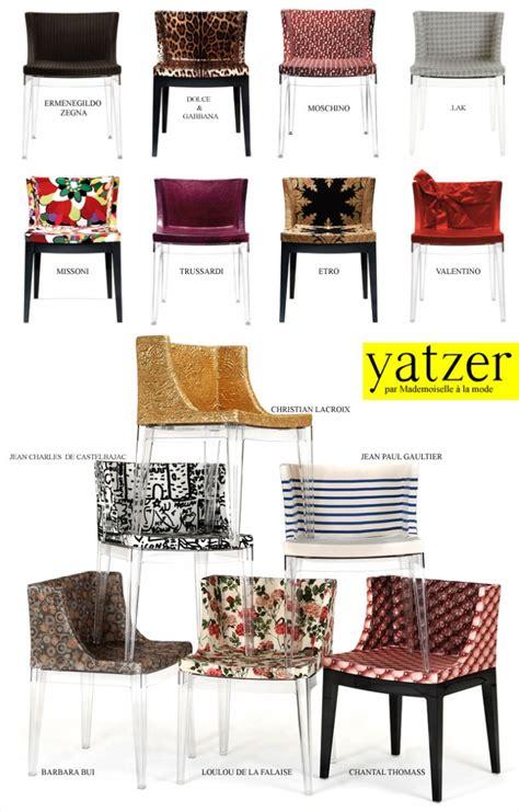chaise mademoiselle lakis gavalas for kartell yatzer