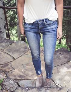 Ankle Boots with Skinny Jeans | Fashion Over 40 | Busbee Style