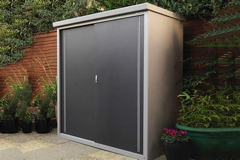 outdoor metal storage cabinet metal garden storage cabinet multiple shelf options