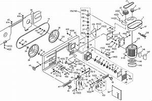 32 Band Saw Parts Diagram