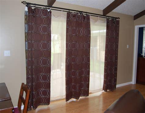 curtain rod sliding door curtain menzilperde net