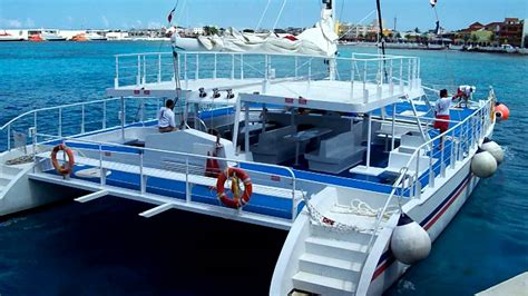 Catamaran In Cozumel by Catamaran Cozumel Groups Weddings Celebrations Youtube