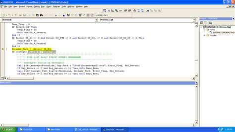 vb6 run time error 6 overflow in visual basic 6 0