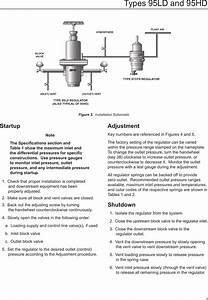 Emerson 95 Series Pressure Reducing Regulators Instruction