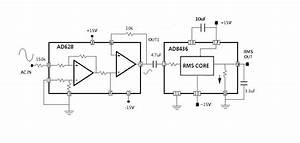 Simple Circuit Measures Rms Value Of Ac Power Line