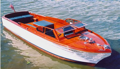 Chris Craft Wooden Boats by 1955 29 Chris Craft Sportsman
