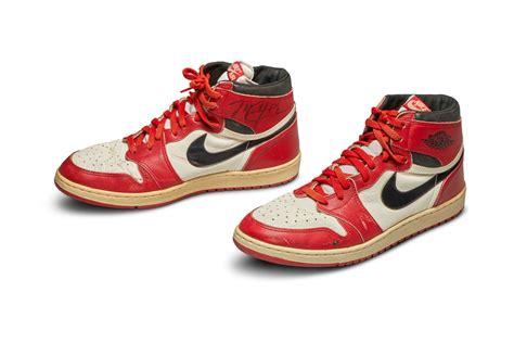 Michael Jordan Game Worn Nike Air Jordan 1s Up For Auction
