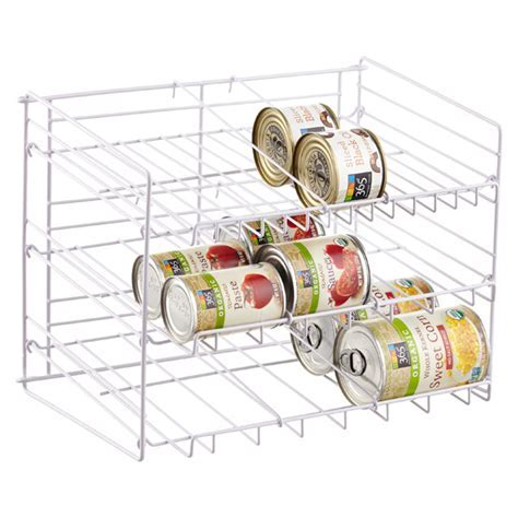 Gravity Feed Can Rack   The Container Store