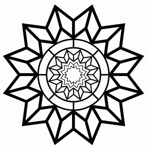 Geometric Design Coloring Pages Geometric Design Coloring Pages To Print Az Coloring Pages