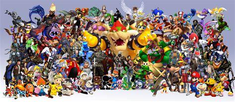 video game characters wallpaper wallpapersafari