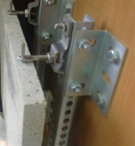 l flat fixing system stainless steel bracket