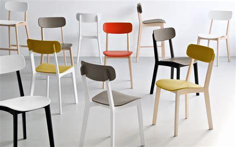 chaises bistro chaise de cuisine jaune