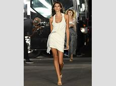 Kaia Gerber Walks In the Alexander Wang Fashion Show