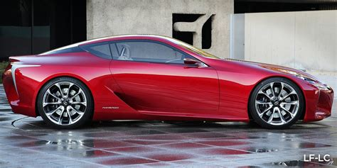 lexus concept coupe lexus lf lc hybrid sports coupe concept at detroit