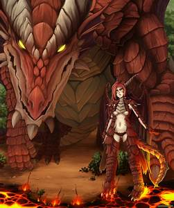 DnD - Red Dragon by Barbariank on DeviantArt