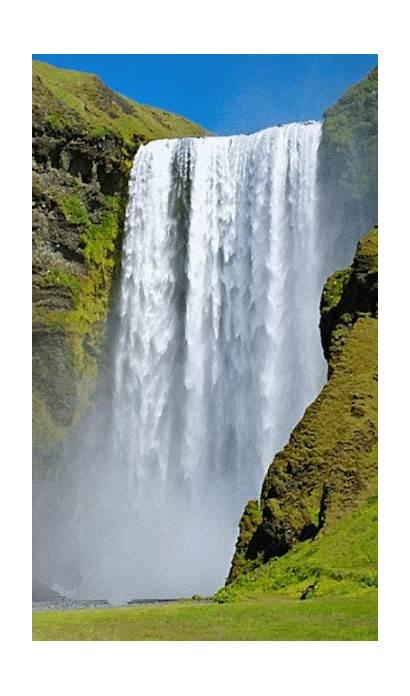 Gifs Animated Waterfalls Waterfall Fall Con Water