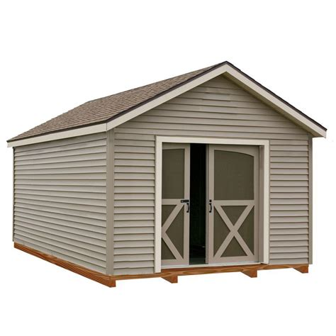 12x16 Shed Kit With Floor by Best Barns South Dakota 12 Ft X 20 Ft Prepped For Vinyl