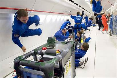 Flight Inside Airbus Zero Parabolic During Flights