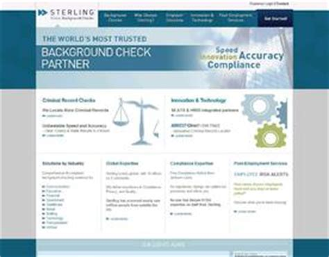 Sterling Background Check Reviews Sterling Infosystems Reviews Customer Reviews And