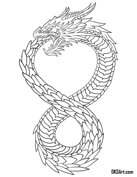Altered Carbon Dragon Tattoo Design