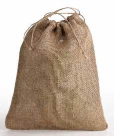 burlap wedding decorations jute burlap drawstring bag bags basic craft