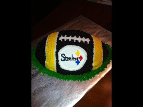steelers birthday cake 17 best images about pittsburgh steelers birthday cakes on