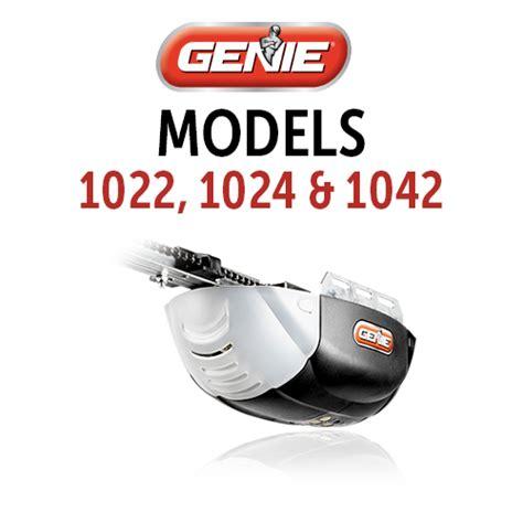 Genie Garage Door Opener Model 1024  Dandk Organizer