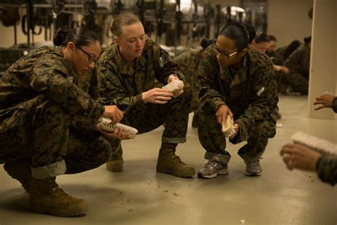 dvids images morning routine on parris island sets