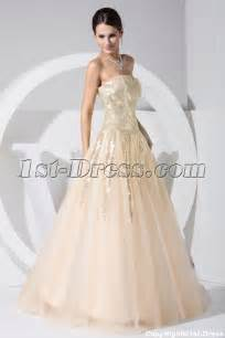 modest wedding dresses chagne with gold sequins 15 quinceanera dress wd1 020 1st dress