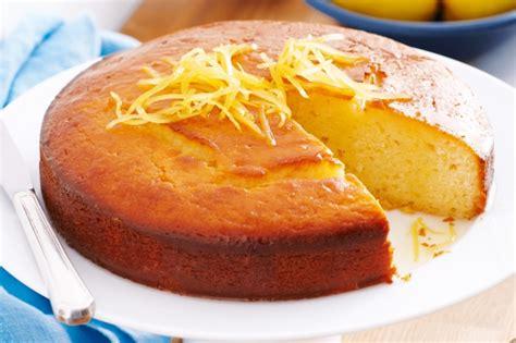 lemon yoghurt cake  syrup recipe tastecomau