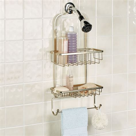pristine rust resistant hanging shower caddy  suction cups