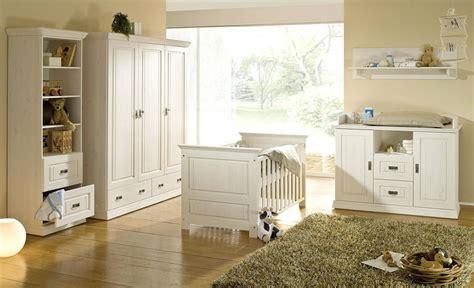 Massivholz Babyzimmer 6teilig Weiß Gewachst Komplett