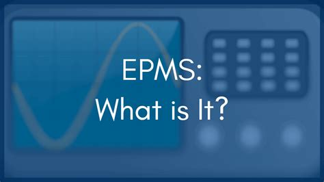 What is an EPMS? How is it different than SCADA?