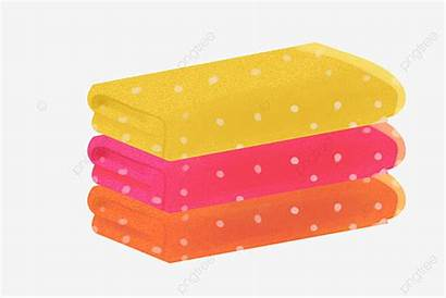 Maid Towels Holding Psd