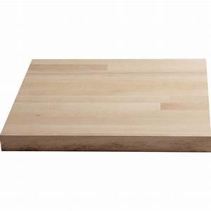 Leroy Merlin Plan De Travail : plan de travail droit bois h tre brut 250 x 65 cm p 26 ~ Dailycaller-alerts.com Idées de Décoration