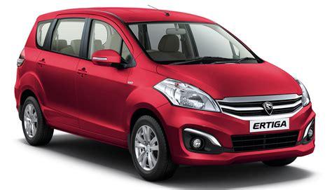 New Proton Ertiga Mpv Details Revealed  A Rebadged Suzuki