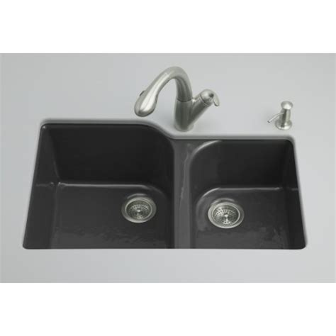 Kohler Executive Chef Sink Rack Black by Kohler K5931 4u 7 Executive Chef White Color Undermount
