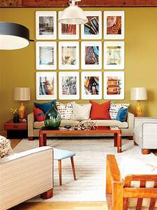 Snazzy Living Room Decor Ideas Offer Brown Fabric Couch ...