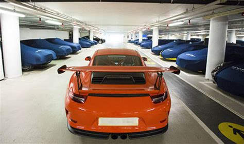London's Secret Supercar Car Park Revealed In Pictures