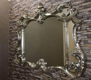 Wandspiegel Silber Antik : antik wandspiegel silber antik spiegel ramon ~ Watch28wear.com Haus und Dekorationen