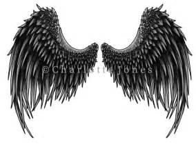 Dark Angel Wings Tattoo