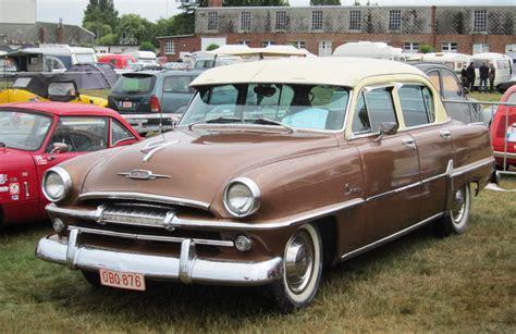 1954 Plymouth Savoy - Information and photos - MOMENTcar