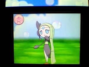 Pokemon Amie Meloetta - YouTube