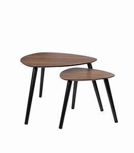 Table Basse Bois Foncé : tables basses ~ Teatrodelosmanantiales.com Idées de Décoration