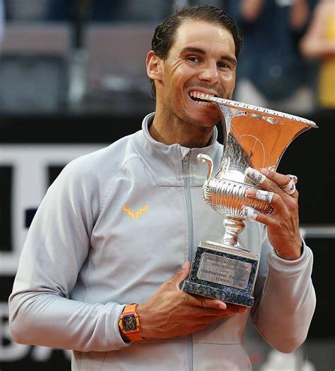 Rafa Nadal vs Novak Djokovic Highlights: Rafael Nadal beats Novak Djokovic 7-6, 6-3 to move into Rome final   Sports News, The Indian Express