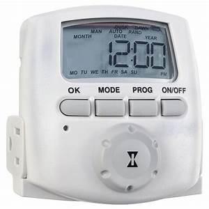 Intermatic 15 Amp Heavy Duty Plug-In Digital Timer-DT620 ...