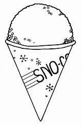 Cone Snow Clipart Clip Cones Drawing Draw Sno Coloring Pages Snocone Sheet Cliparts Ice Cream Library Getdrawings Colouring Clipartlook Cg sketch template