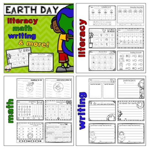 earth day activities  images writing cvc words